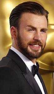 Hair And Beard Styles Chris Evans 87th Annual Academy