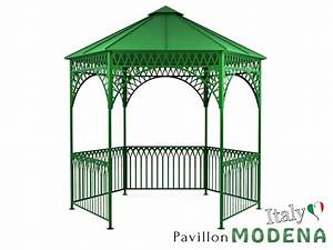Flachdach Pavillon Metall. pavillon grazi s flachdach pavillon ...