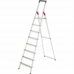 Leiter 8 Stufen : leiter hailo profiline s 150 mit 8 stufen eoffice24 ~ Watch28wear.com Haus und Dekorationen