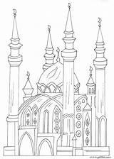 Coloring Mosque Pages Islamic Muslim Masjid Arabic Alphabet Raskraski Ramadan Quran Islam Mosques Colouring Jawaher Template Draw Children Books Amp sketch template