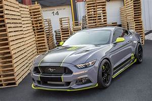 SEMA 2016: CJ's Stealth Gray Mustang Unveiled   SEMA Mustang Builds   CJ Pony Parts