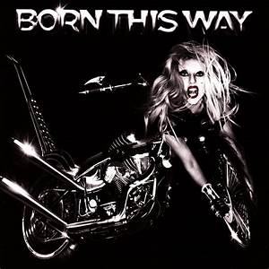 Carátula Frontal de Lady Gaga - Born This Way - Portada