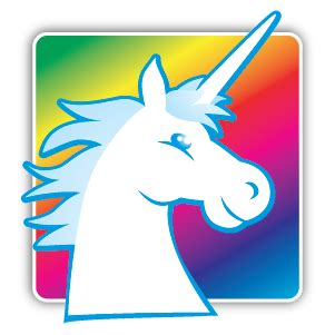 unicorn head symbol