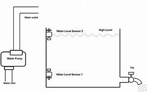 wireless remote switch for well pump With water pump motor wireless remote controller with water level sensor