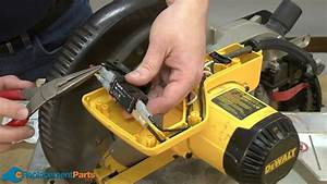How To Replace The Switch On A Dewalt Dw703 Miter Saw