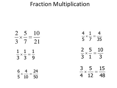 Fraction Multiplication