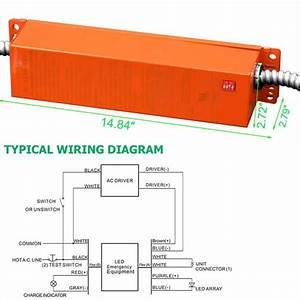 Led Emergency Battery Pack For Led Troffer Panel Lighting