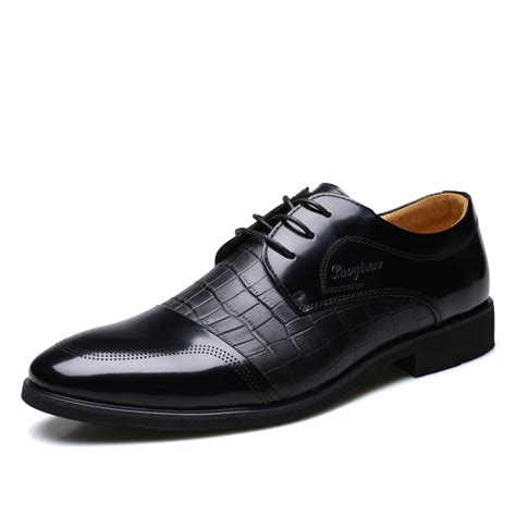 Hot Sale New Business Dress Shoes Fashion Leather