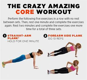 The CRAZY AMAZING CORE Workout Routine