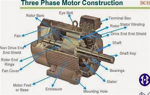 Electrical Engineering World  Three Phase Motor Construction