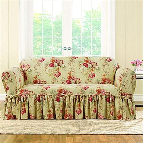 fit ballad bouquet  waverly loveseat slipcover