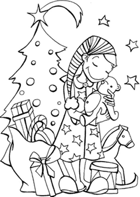 presents coloring pages free printable