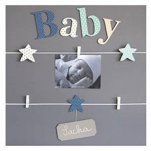 Cadre Deco Bebe : cadre pele mele chambre bebe visuel 9 ~ Teatrodelosmanantiales.com Idées de Décoration