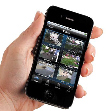 smartphone security app security cameras surveillance us alert security llc