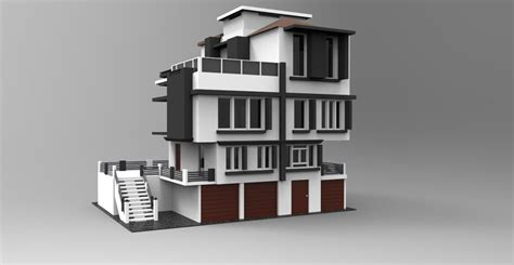 Modeling Modern House 3ds Max Tutorial Part  1 Youtube