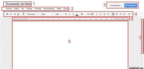 Interfaz de Google Docs - Google Docs 】