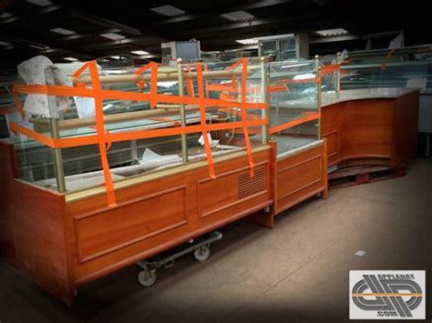 ensemble vitrines 2m00 froid 1m00 neutre meuble caisse jordao occasion vendu
