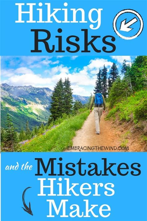 Don't make these hiker mistakes Stay safe on the trail