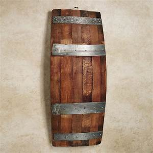 faux wine barrel wall decor home design ideas ideas to With what kind of paint to use on kitchen cabinets for antique metal candle holders