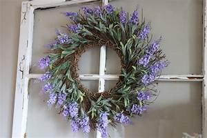 Diy, Lavender, Wreath