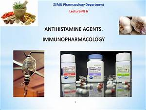 Types Of Antibodies Antihistamine Agents Immunopharmacology презентация онлайн