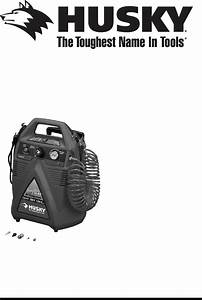 Husky Air Compressor A05051 User Guide
