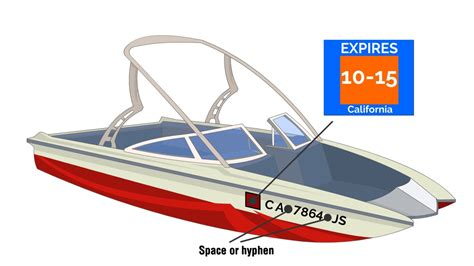 Boating License California 2018 by California Boat Registration Requirements Fees Renewal