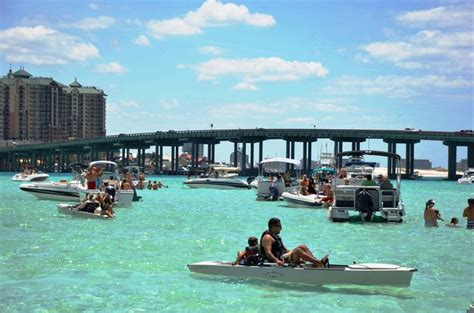 destin florida crab island boat cruises attractions break spring vacation destinations fla fl springs seaside crabs fun