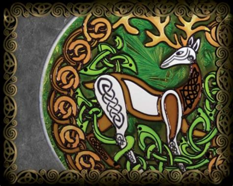 Stained Glass - Celtic Art by Jen DelythStained Glass