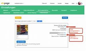 Rechnung Fußzeile : die automatische rechnungserstellung einrichten elopage hilfebereich ~ Themetempest.com Abrechnung