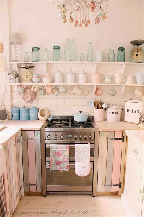 French Country Kitchens 50 Sweet Shabby Chic Kitchen Ideas 2017