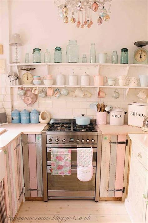 sweet shabby chic kitchen ideas
