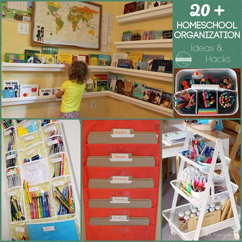 Homeschool Closet Organization Ideas by 20 Homeschool Organization Ideas Hacks