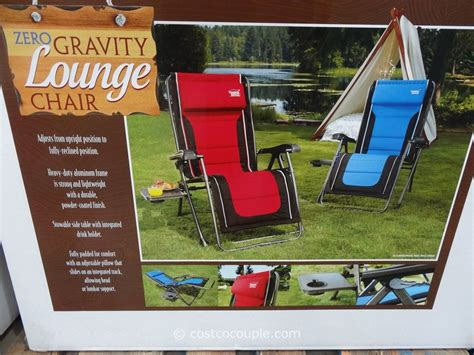 Timber Ridge Folding Lounge Chair by Timber Ridge Zero Gravity Lounge Chair