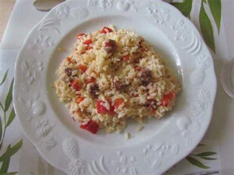ma cuisine tout simplement risotto merguez et poivron par legoupil ma cuisine
