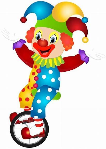 Clown Clipart Clip Transparent Payaso Jester Payasos