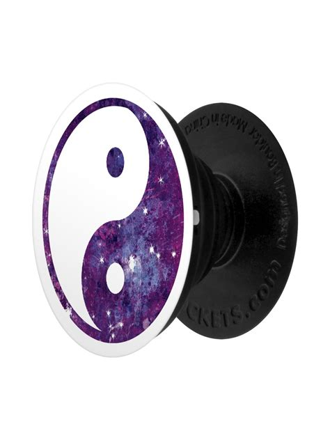 Cool Yin Yang Pictures Yin Yang Galaxy Popsocket Phone Stand And Grip Buy Online At Grindstore Com