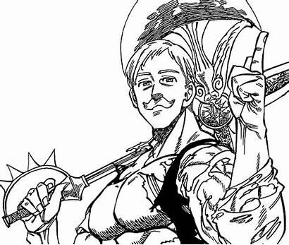 Escanor Pecados Nanatsu Taizai Vs Anime Dos