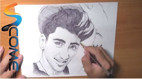 impara  disegnare zayn dei  direction youtube