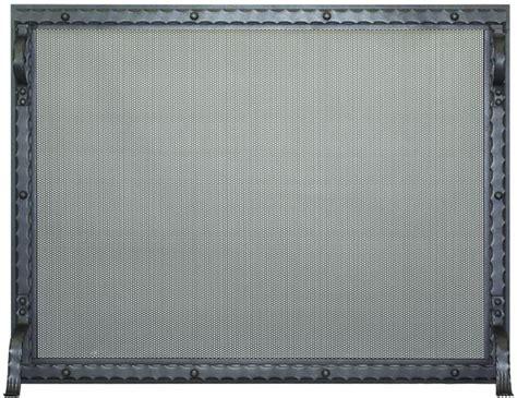 Blacksmith Single Panel Fireplace Screen