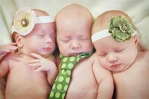 Triplets! Brand new babies!! - Triplet Newborn Photography ...