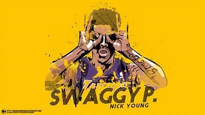Swaggy Nick Young Lakers Fan Nickelodeon Wallpapersafari