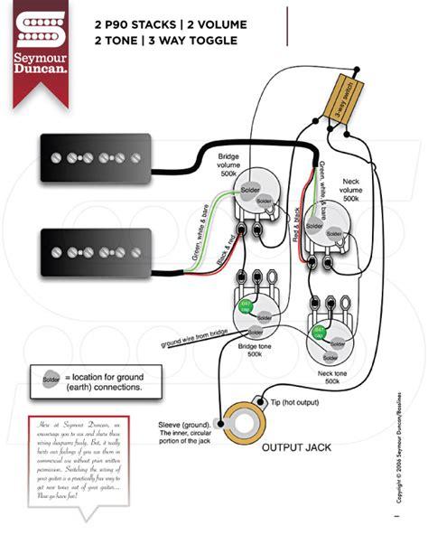 Wiring Diagrams Seymour Duncan Part