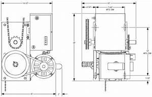 Power Master Overhead Door Operator J Model