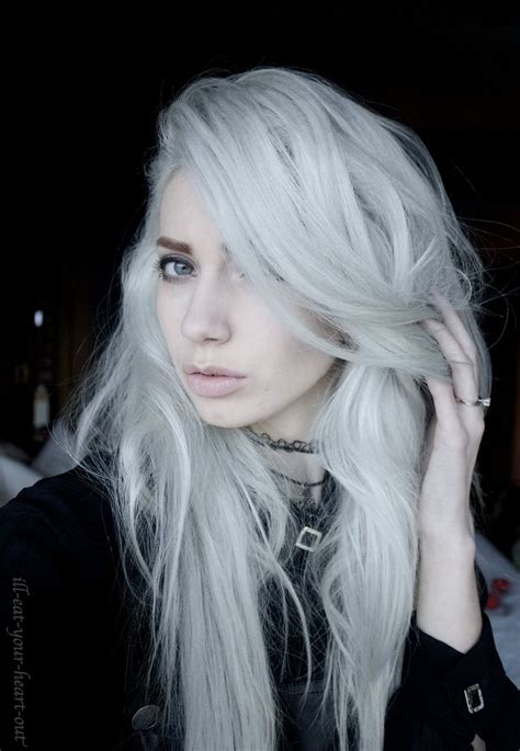 552 Best Silver White Platinum Hair Images On Pinterest