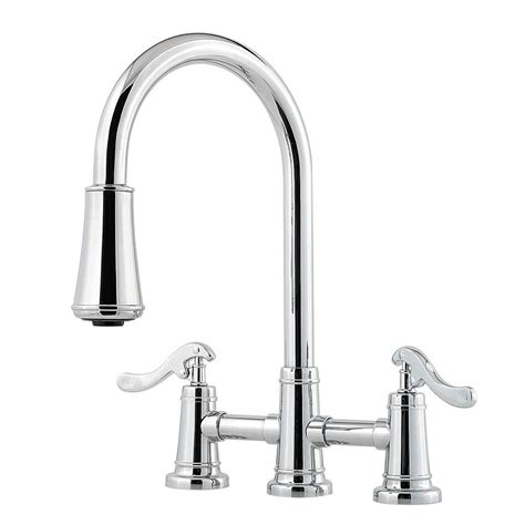 2 handle kitchen faucet pfister ashfield 2 handle pull sprayer kitchen faucet