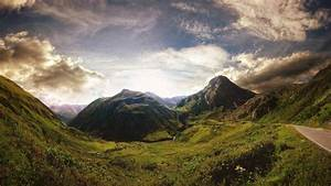 Landscape, Clouds, Mountain, Road, Wallpapers, Hd, Desktop, And, Mobile, Backgrounds