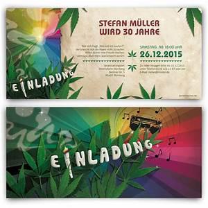 Hanf Zum Abdichten : einladungen zum geburtstag cannabis reggae hanf joint ~ Lizthompson.info Haus und Dekorationen