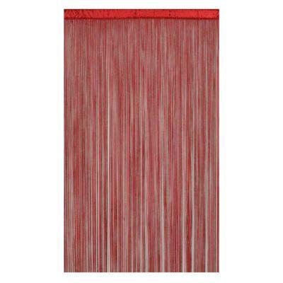 rideau de fils defil rouge    cm castorama