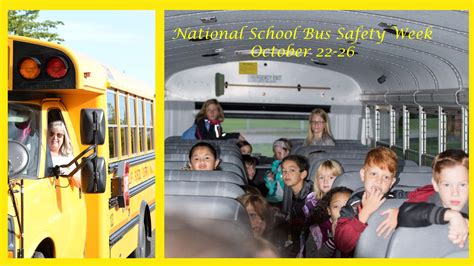 national school bus safety week october   puyallup
